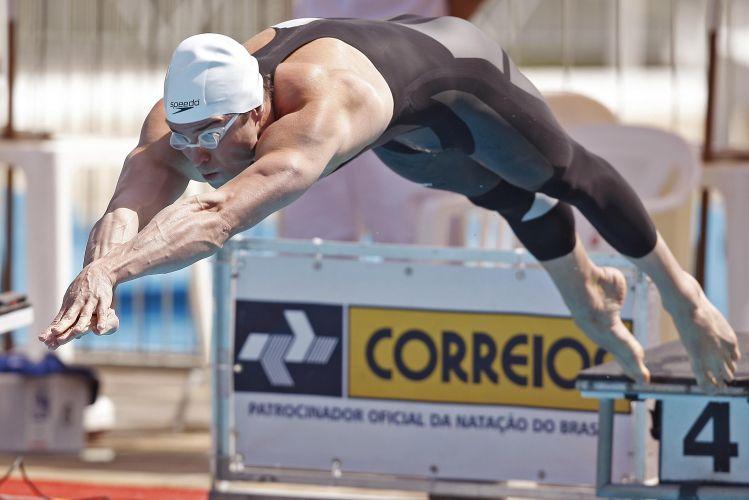 Sem Cielo, Nicholas Santos dominou os 50 m livre