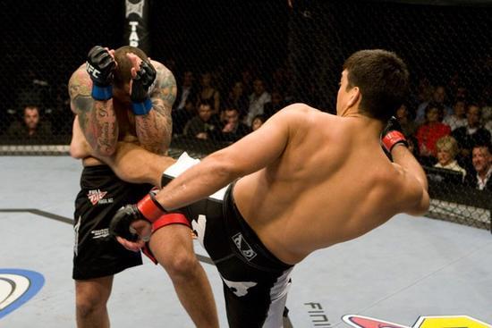 Lyoto não deu chance para o compatriota Thiago Silva no UFC 94