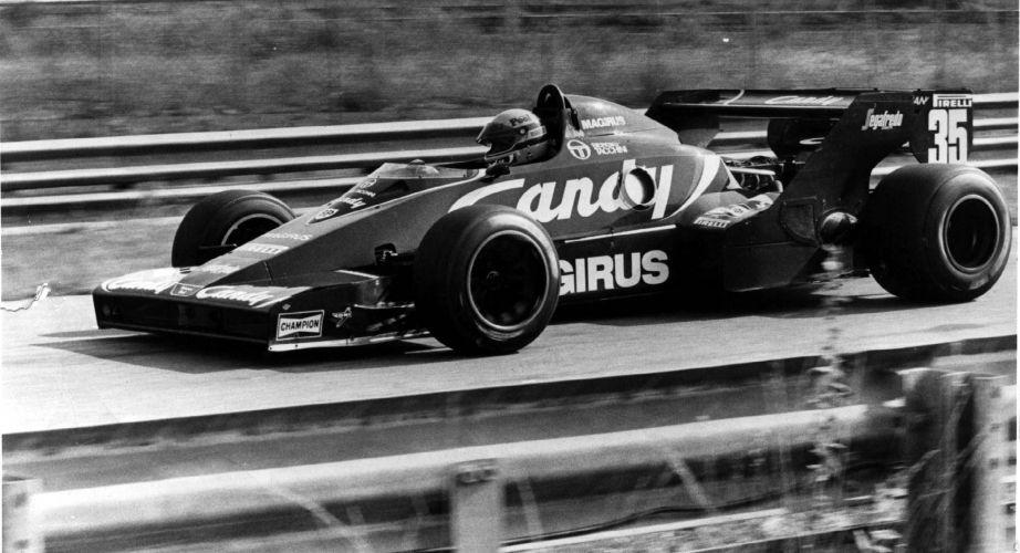 Senna estreia na F-1 correndo pela Toleman no GP Brasil de 1984