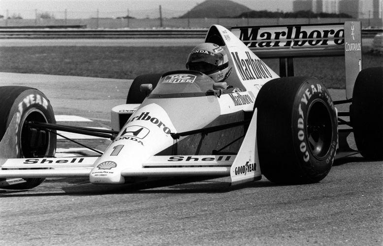 Em 1991, Senna celebrou seu último título pela McLaren