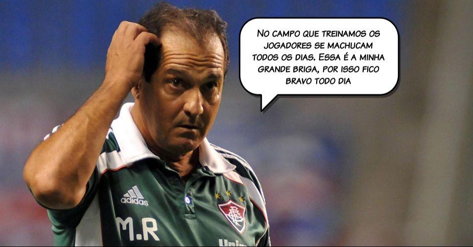 Falta de estrutura foi o motivo alegado por Muricy Ramalho para sair do Fluminense