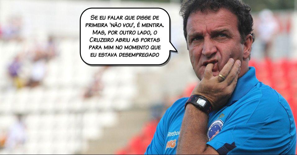 Cuca admitiu que balançou com a oferta que recebeu do Fluminense, mas recusou argumentando que dinheiro não é tudo