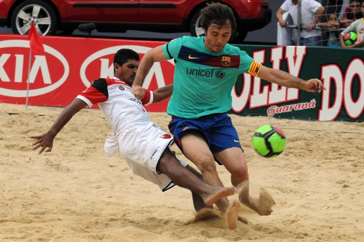 Flamengo vence o Barcelona por 4 a 1 e encerra invencibilidade do time espanhol em São Paulo