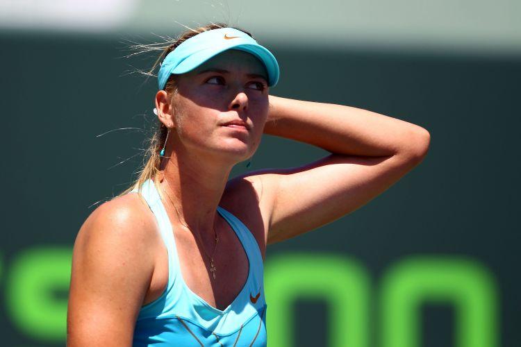 Maria Sharapova lamenta derrota para a Victoria Azarenka na final em Miami por 2 sets a 0, com parciais de 6-1 e 6-4