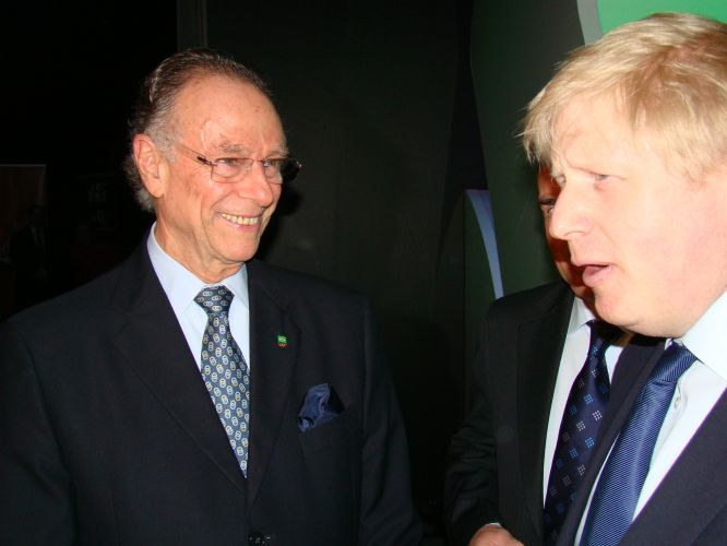 O COB também firmou acordo de cooperação com o Comitê Olímpico Britânico. A cerimônia de assinatura contou com a presença do prefeito de Londres, Boris Johnson
