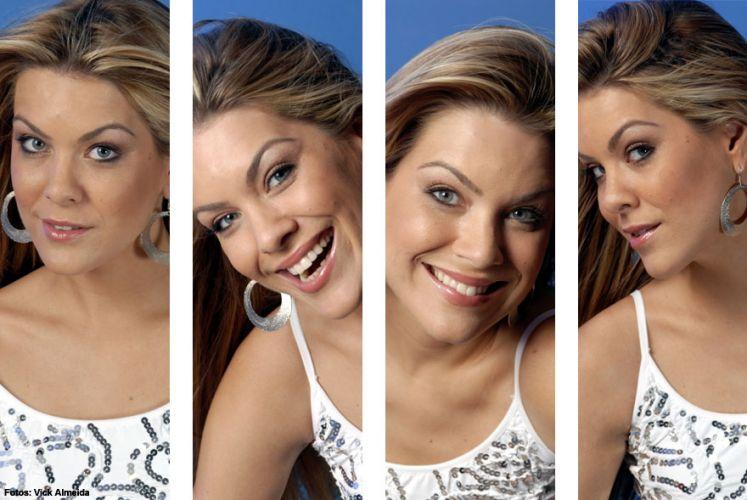 Quatro rostos de Renata Fan. Carismática, apresentadora conquistou os boleiros brasileiros