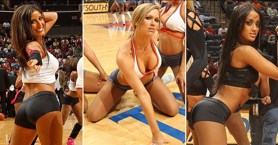 As cheerleaders mais queridas da NBA esto em Charlotte. O time de danarinas dos Bobcats se sagrou bicampeo do concurso, eliminando as meninas de Miami, Milwaukee, Nova York e Sacramento