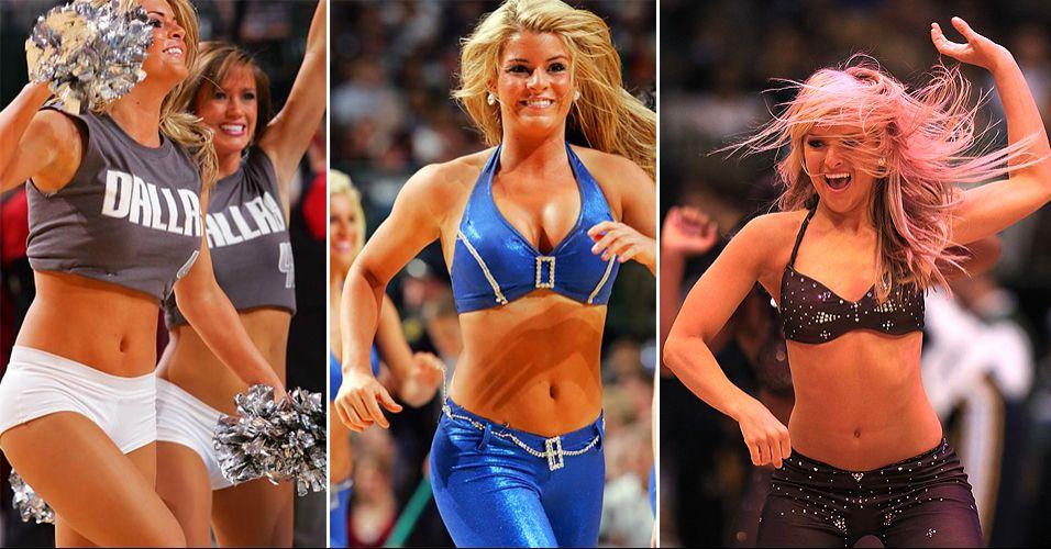 As cheerleaders de Dallas fizeram bonito no concurso promovido pela NBA. Chegaram às semifinais da Conferência Oeste, eliminando Timberwolves e Thunder, e acabaram eliminadas apenas no duelo contra as vice-campeãs do Sacramento Kings
