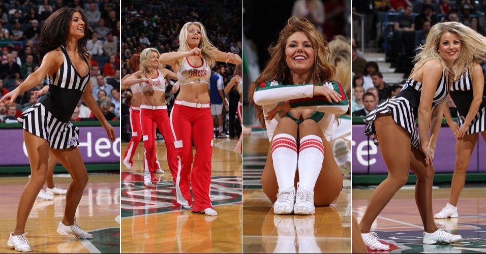 As ousadas dançarinas de Milwaukee fizeram sucesso entre os torcedores que votaram no concurso de cheerleaders da NBA. Chegaram às semifinais da Conferência Leste, sendo eliminadas pelas bicampeãs do Charlotte Bobcats