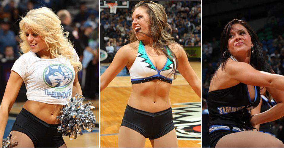 A beleza das animadoras de Minnesota não seduziu os internautas. A equipe de dança dos Wolves foi eliminada pelo Thunder na primeira rodada do concurso de cheerleaders da NBA