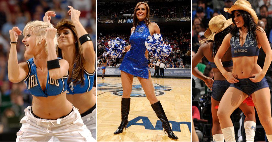 As cheerleaders do Magic esbanjam beleza e simpatia, mas estão longe de serem as mais populares da NBA. No concurso realizado pela liga, as dançarinas de Orlando acabaram eliminadas pelas meninas do Milwaukee Bucks na segunda rodada de disputa