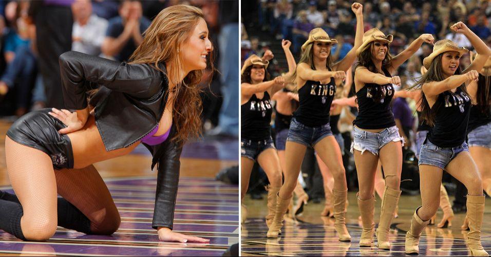 A beleza das dançarinas de Sacramento foi reconhecida pelos torcedores. As cheerleaders dos Kings conquistaram o vice-campeonato do concurso realizado pela NBA, sendo derrotadas na decisão pelas bicampeãs do Charlotte Bobcats