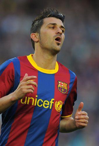 Atacante Villa quebrou longo jejum sem gols e voltou a marcar na vitória de 2 a 0 do Barça contra o Osasuna pelo Campeonato Espanhol