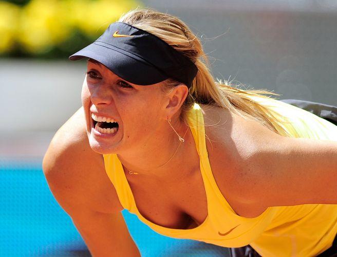 Maria Sharapova reconheceu que não teve uma atuação regular contra sua compatriota Ekaterina Makarova. No entanto, ela se recuperou, derrotou a adversária por 2 sets a 1 (parciais de 6-3, 3-6 e 6-1) e se classificou para a terceira rodada do Torneio de Madri