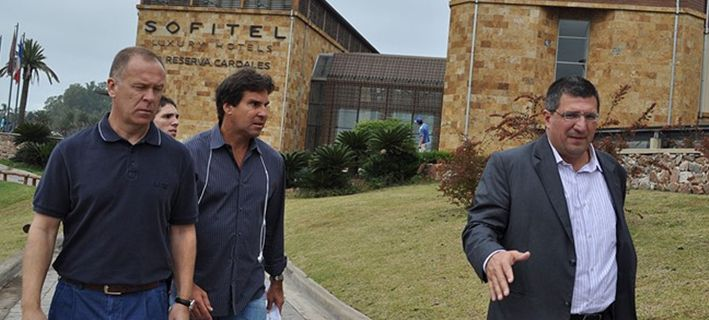 O hotel da seleção fica a 60 quilometros de Buenos Aires