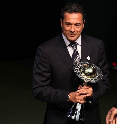 Completando o domínio do Flamengo na eleição, Vanderlei Luxemburgo levou o prêmio de melhor técnico