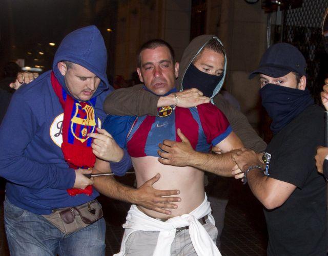 Incidentes em Barcelona deixaram quase 90 feridos