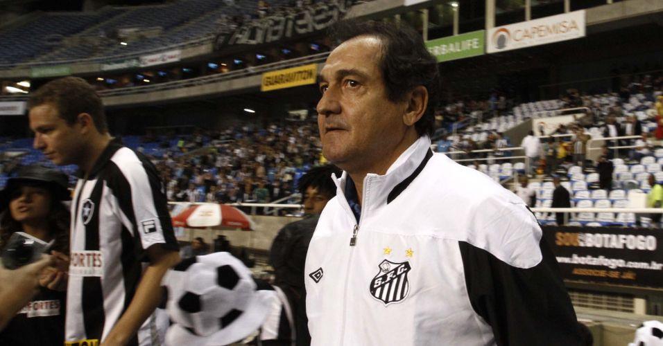 Muricy Ramalho sofreu sua primeira derrota no comando do Santos