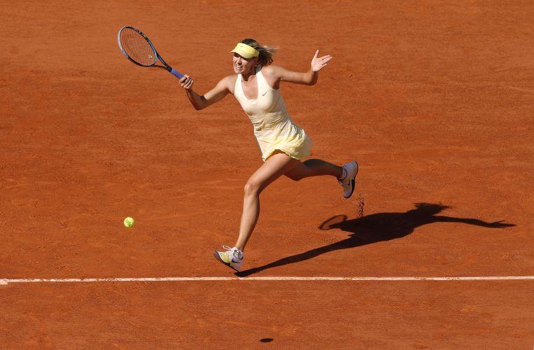Sharapova venceu Yung-Jan Chan em Roand Garros.