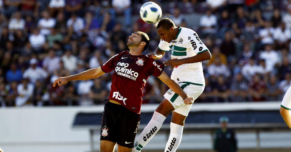 Corinthians recebeu a equipe reserva do Coritiba, que está focado na final da Copa do Brasil contra o Vasco