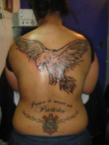 Silvio Melo fez sua tatuagem em janeiro de 2000 após a perda do título brasileiro em dezembro de 1999: