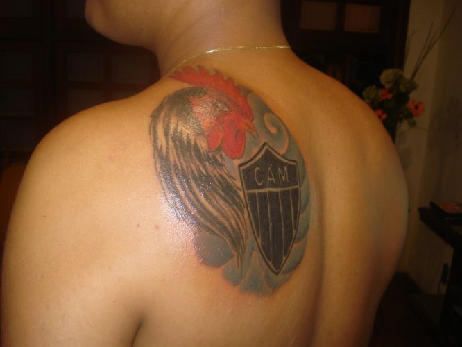 Denis Rafael Oliveira da Silva fez sua tatuagem no dia 21 de maio deste ano para expressar seu amor pelo Corinthians