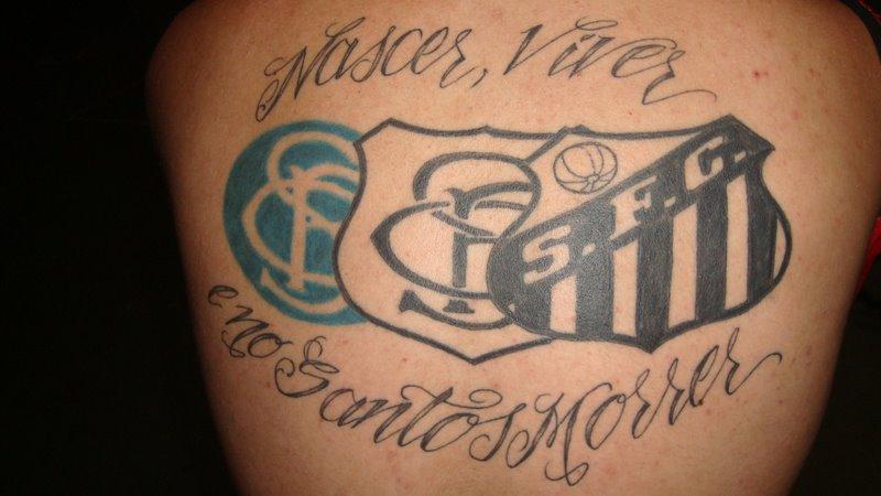 Flávio Neves Gomes fez sua tatuagem no dia 18 de janeiro de 2008