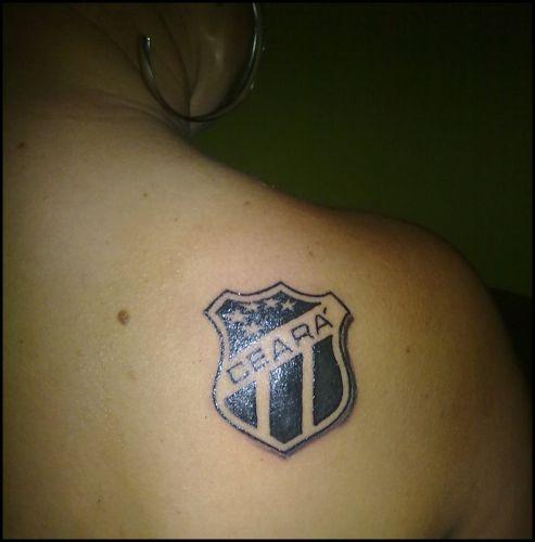 O atleticano Lucas Tayrone Quintiliano, de Caeté (MG), encontrou na tatuagem a maneira para expressar seu