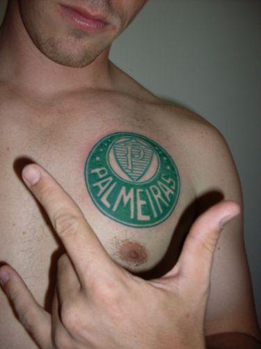 Norivaldo Ferreira Junior fez a tatuagem da mascote Macaca em 2004 para homenagear a Ponte Preta
