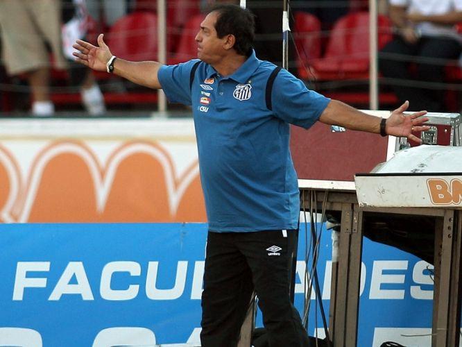 O treinador Muricy Ramalho também não esconde os quilinhos extras