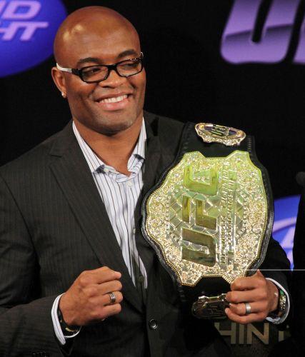 Anderson Silva disse que o UFC Rio será a seleção do Brasil contra o resto do mundo