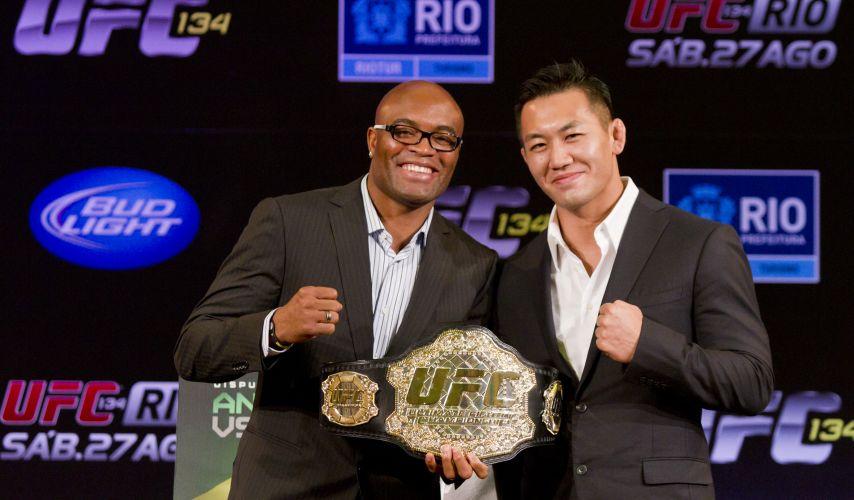Atletas irão protagonizar o UFC Rio no dia 27 de agosto