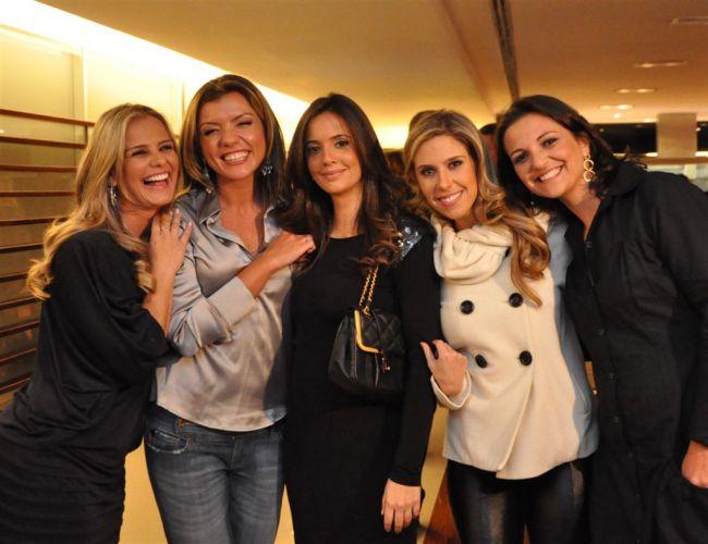 Milene Domingues, Marília Ruiz, Paloma Tocci, Gabriela Pasqualin e Juliana Cabral são as