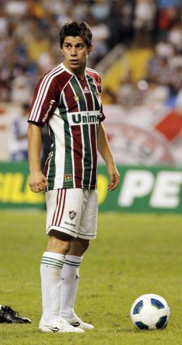 Dario Conca não evitou a derrota por 1 a 0 do Fluminense para o Bahia no Engenhão