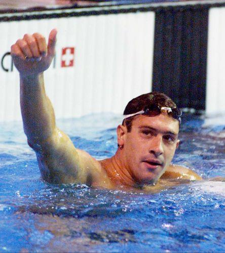 Gustavo Borges - Com 19 medalhas em quatro Jogos Pan-Americanos, o nadador é o maior medalhista brasileiro do Pan (e era o recordista em ouros, com oito, até Hugo Hoyama bater a marca em 2007)