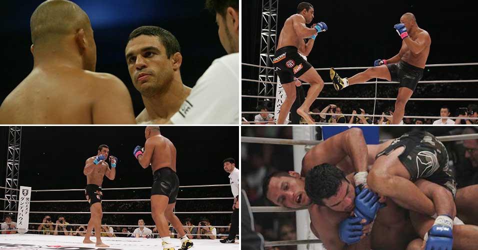 Belfort fez carreira nos primórdios do UFC, no Pride e retornou ao UFC, onde foi campeão dos meio-pesados