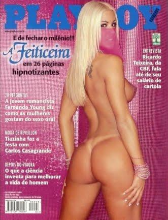 A primeira vez que a beldade foi capa da revista masculina foi em 1999, quando ainda trabalhava com Luciano Huck