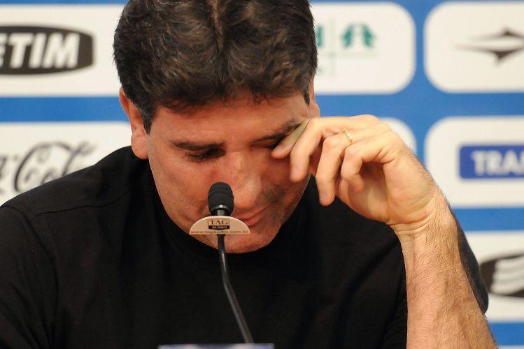 Renato Gaúcho deixa o Grêmio com 59,6% de aproveitamento dos pontos nas partidas em que comandou o Tricolor.
