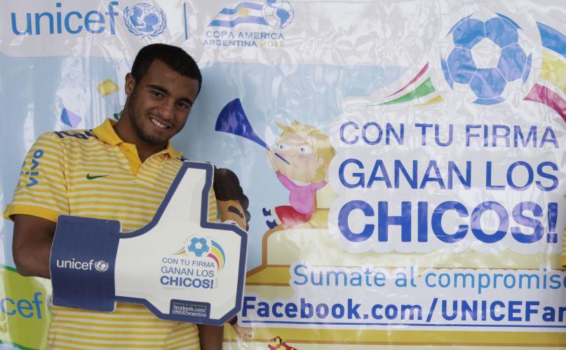 Meia Lucas participa de campanha da Unicef contra a discriminação infantil