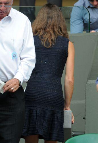Pippa Middleton, irmã de Catherine, Duquesa de Cambridge, esteve em Wimbledon para acompanhar a partida entre Novak Djokovic e Jo-Wilfried Tsonga, pelas semifinais do torneio