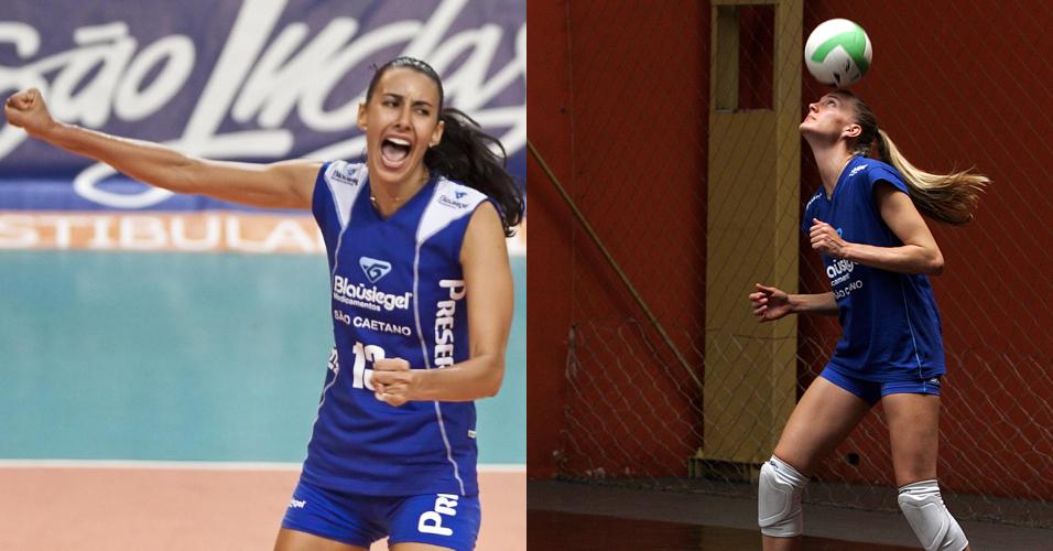 Companheiras de seleção, Sheilla e Mari também ficam muito próximas no restante da temporadas. Juntas, elas já atuaram no Blausiegel/São Caetano, e também lado a lado mudaram-se para o Rio de Janeiro, onde defendem o Unilever.