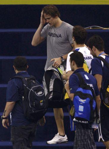 Ainda sem saber se poderia nadar o Mundial, Cielo treinou com o restante da delegação brasileira nesta quinta-feira. Logo depois, o CAS divulgou o resultado que confirmou a punição da CBDA e liberou o brasileiro para a disputa do Mundial e Londres-2012