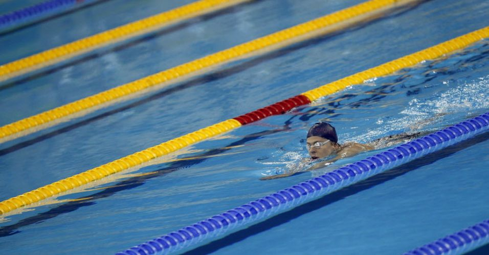 Mesmo não sabendo se poderia competir, Cielo caiu na água antes da divulgação do resultado do seu julgamento pelo CAS
