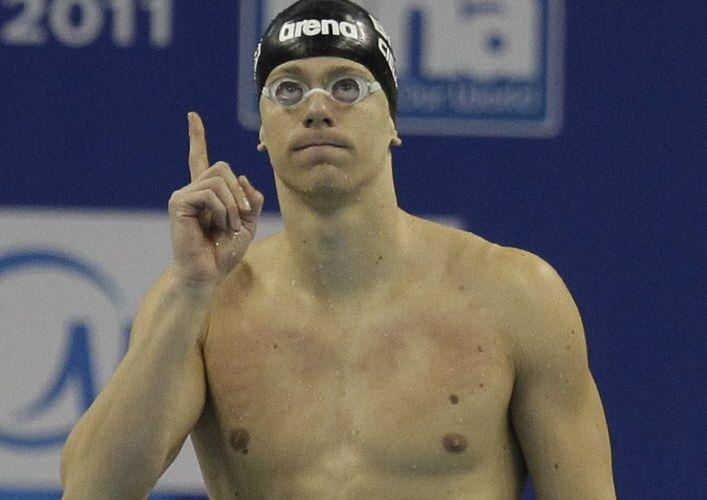 Brasileiro Cesar Cielo obtém o melhor tempo das eliminatórias dos 100 m borboleta