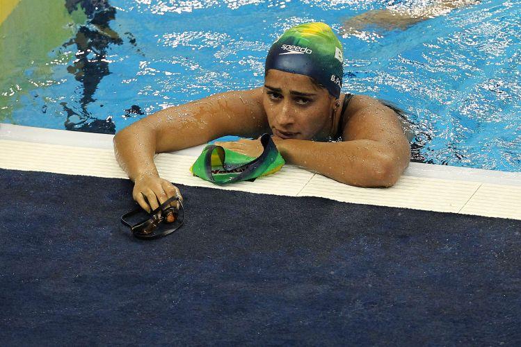 Daynara de Paula ficou de fora das semifinais dos 100 m borboleta. A brasileira, que terminou em sexto na sua bateria, registrou o tempo de 59s24 e terminou apenas na 21ª colocação nas eliminatórias