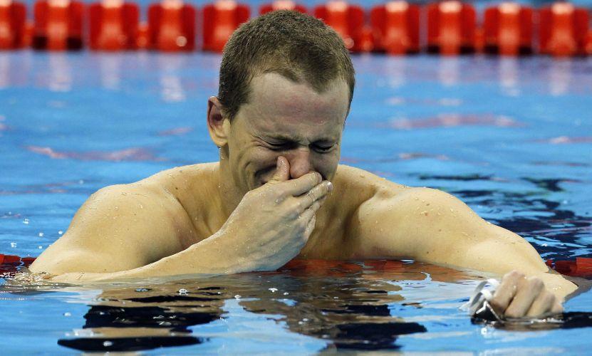 Reconhecidamente um 'chorão', lágrimas de Cielo após ouro em Xangai tinham sabor de alívio após brasileiro se ver envolvido em caso de doping