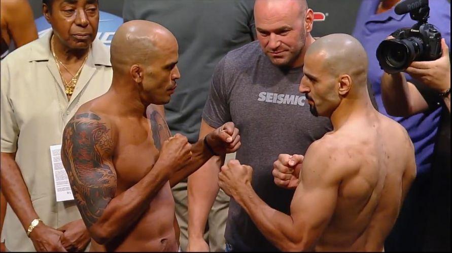 No card principal na Filadélfia, Jorge Rivera (e) luta contra Constantinos Philippou entre os pesos médios