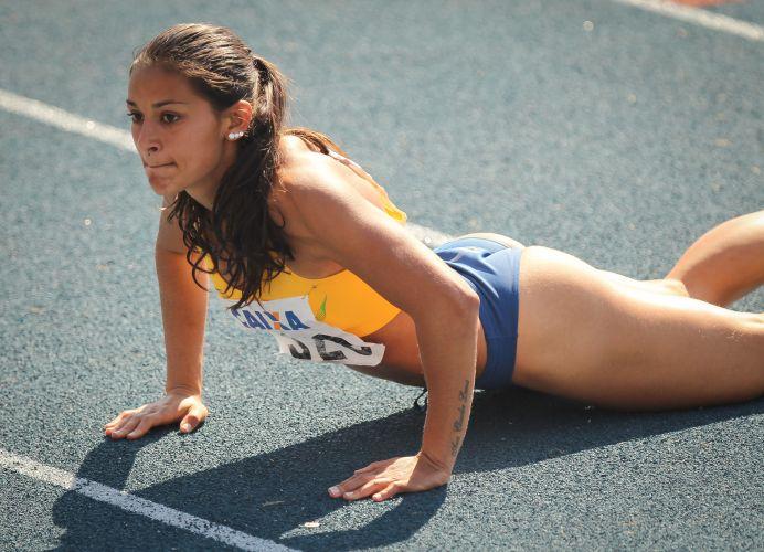 Musa do Troféu Brasil, Ana Claudia Silva venceu os 200m neste domingo.
