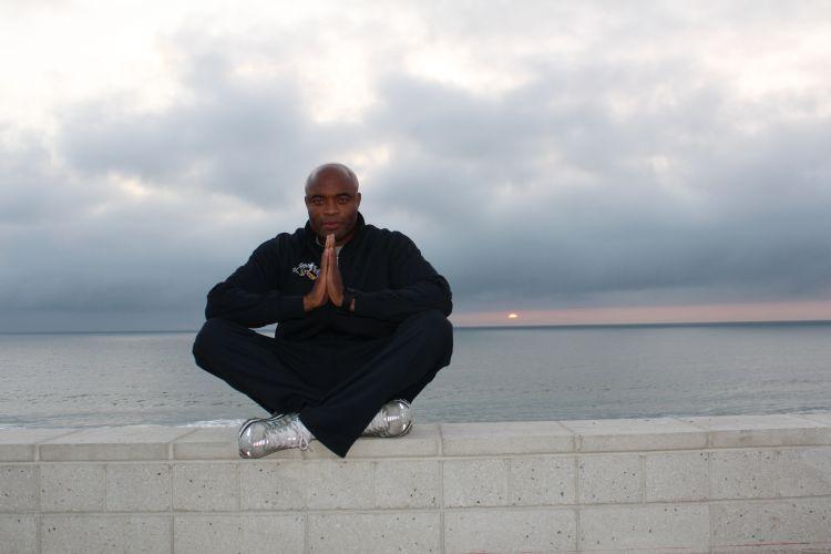 O lutador Anderson Silva mostra um cenário paradisíaco perto de sua casa em Los Angeles onde ele gosta de relaxar