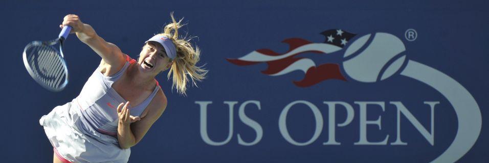 Após perder primeiro set por 6-3 , Sharapova conseguiu reagir nas parciais seguintes com 7-5 e 6-3 e evitou zebra no US Open